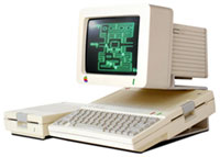 Jereme Thomas's first Apple IIc